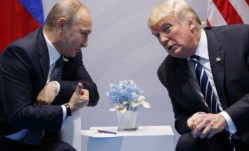 V. Putin and D. Trump