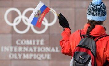 Tarptautinis olimpinis komitetas ir Rusijos vėliava