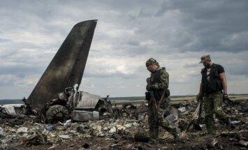 Luhanske numuštas lėktuvas