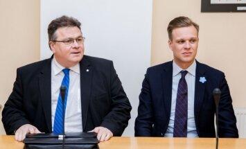 Linas Antanas Linkevičius, Gabrielius Landsbergis