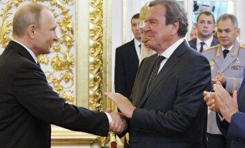 Vladimiras Putinas, Gerhardas Schroederis