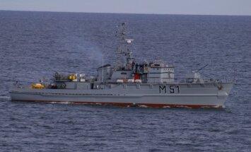 """Minų paieškos ir išminavimo laivas """"Kuršis (M-51)"""