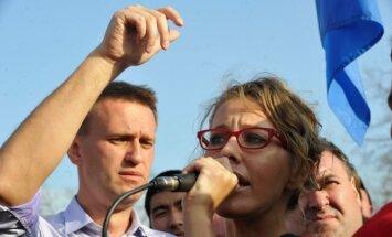 Aleksejus Navalnas, Ksenija Sobčiak