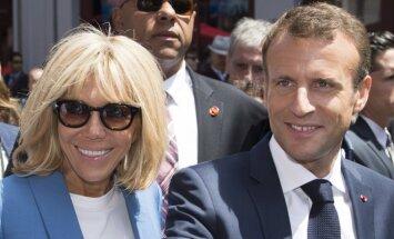 """""""Nesu nei pirmoji, nei paskutinė""""... 15 atvirumo akimirkų su Brigitte Macron"""