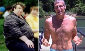 """Šis vyras <span style=""""color: #c00000;"""">numetė 100 kilogramų,</span> laikydamasis savo paties sukurtos 7 žingsnių programos"""