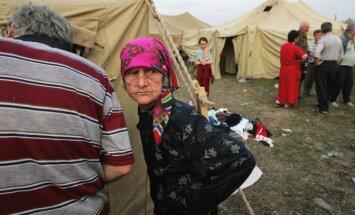 Osetinų pabėgelių stovykla