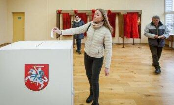 Voting in the Naujoji Vilnia