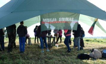 """""""Misija Sibiras"""" pirmą kartą stengėsi prikelti Kryžkalnio memorialą"""