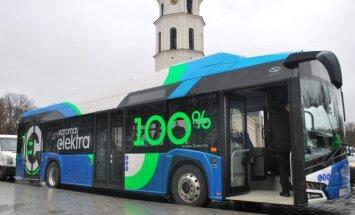 Vilniečiai išbandys pirmąjį mieste elektrinį autobusą