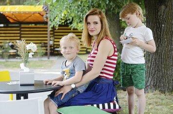 Viena iš nedaugelio Vilniaus vietų, kurioje vaikai sutinkami draugiškai