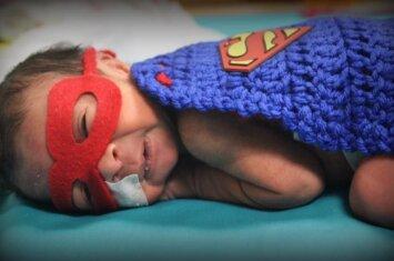Per anksti gimę neišnešiotukai – tikri superherojai