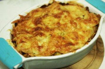 Kai norisi sočiai ir skaniai: bulvių ir mėsos apkepas