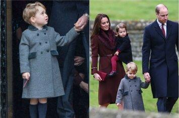 Viešumoje pasirodžiusio mažojo princo apranga per Kalėdas privertė aiktelėti