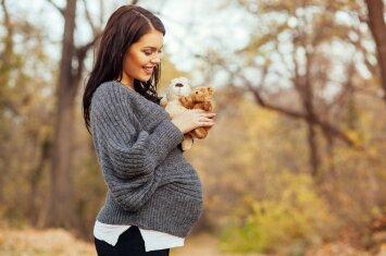 22 nėštumo savaitė: kalbėkis su kūdikiu, kad jis įprastų prie tavo balso