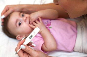 Žadama kompensuoti skiepus nuo meningokokinės infekcijos vaikams