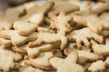 Pirmieji kūdikio sausainiai: kepame namuose