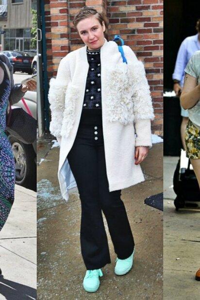 Lena Dunham - tokios beskonybės seniai nematei... (FOTO)