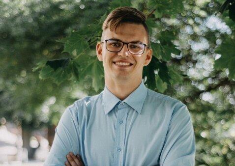 """Darius Savickas: """"Dirbau darželio auklėtoju, dabar esu pirmokų mokytojas"""""""