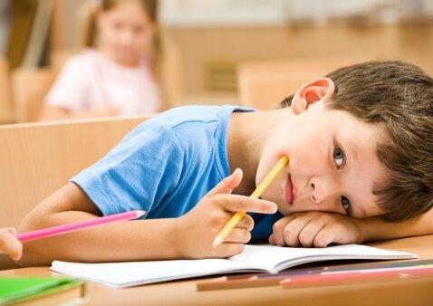 Mano vaikas visiškai nenori mokytis