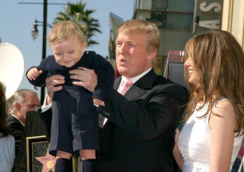 6 negirdėti faktai apie mažiausiąjį Trumpo sūnų