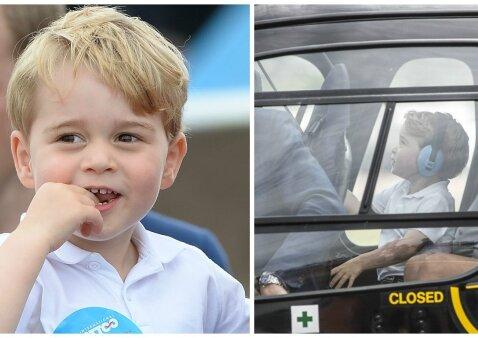 """Mažasis princas artėjančio gimtadienio proga sulaukė įspūdingo siurprizo <sup style=""""color: #ff0000;"""">(FOTO)</sup>"""