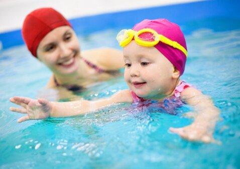 Išsami vaikų baseinų Vilniuje apžvalga: kur eiti geriausia