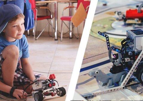 Robotikos akademijos vasaros stovykla – 5 atradimų dienos