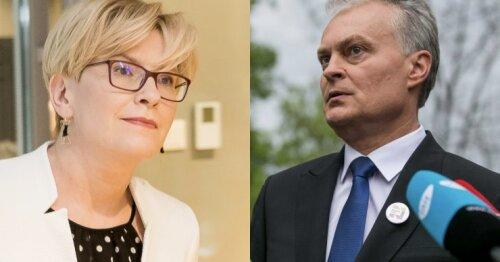 В Литве состоялись выборы президента: Науседа победил с большим отрывом