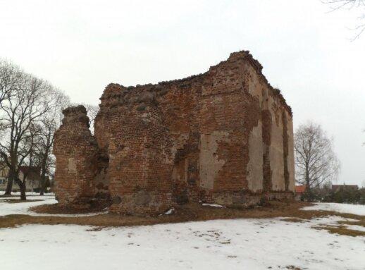 Bažnyčia Deltuvoje. Autoriaus nuotr.