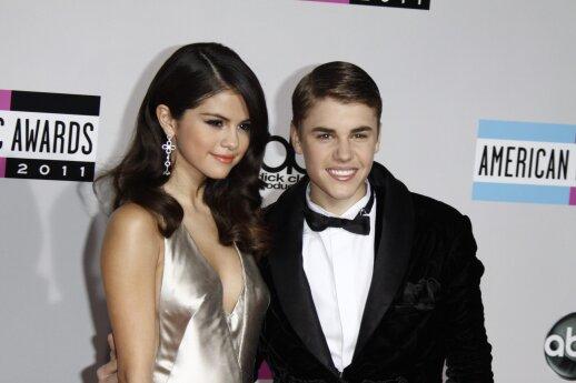 Selena Gomez ir Justinas Bieberis