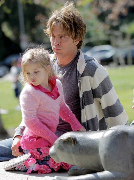 Dannielynn Birkhead su tėčiu