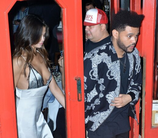 Selena Gomez ir The Weeknd