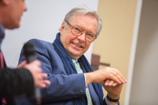 Кшиштоф Занусси в Вильнюсе: нужно покаяться, чтобы освободиться