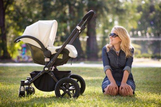 Vaikas vežimėlyje: klaida, kuri gali brangiai kainuoti