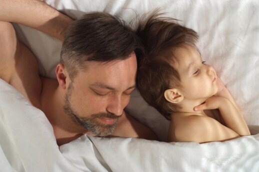 Patarimai vaiko susilaukusiam tėčiui
