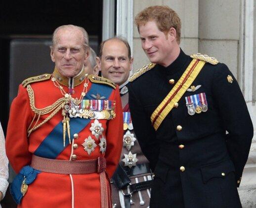 Princas Phillipas ir princas Haris