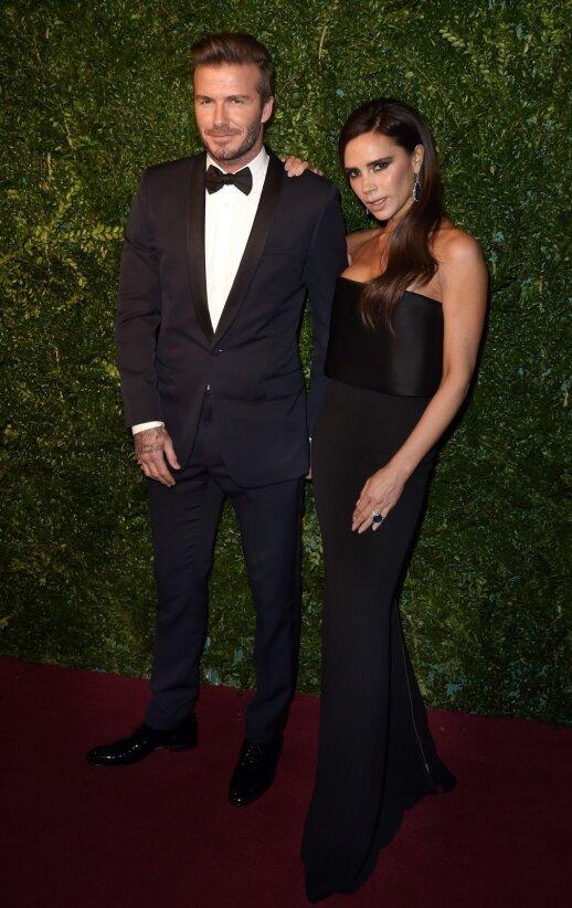Victoria ir David'as Beckham'ai