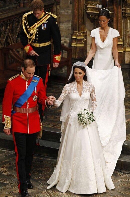Princas Williamas ir Kate Middleton, princas Harry ir Pippa Middleton