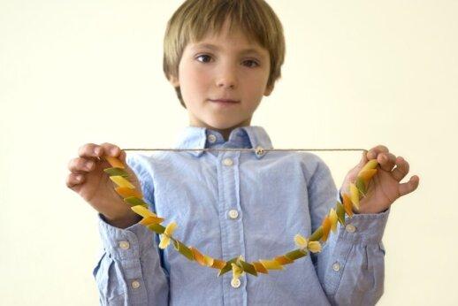 Kaip makaronai lavina vaikus