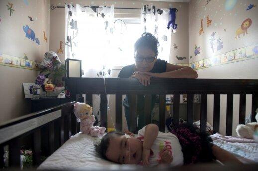 Šeimos drama: žuvusią dukterį primena anūkė