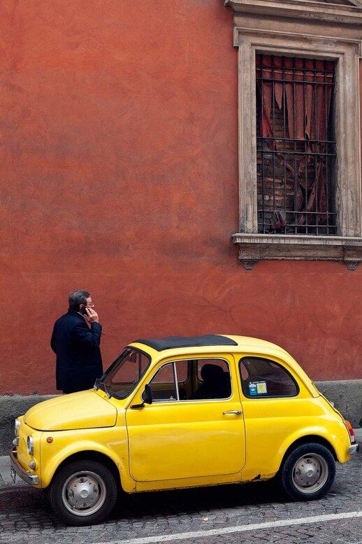 Pilkšva ir rusva - senamiesčio architektūros spalvos