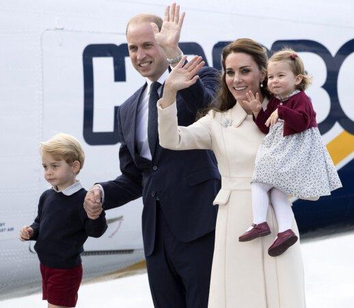 Mažoji princesė Charlotte – tikra vaikiškos mados diktatorė