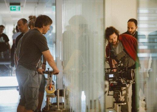 Vilniuje - fantastinės lietuvių ir amerikiečių dramos apie ateitį filmavimas