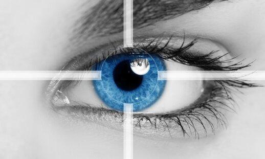 Pažiūrėkite į akis – jose rasite daug informacijos apie žmogų