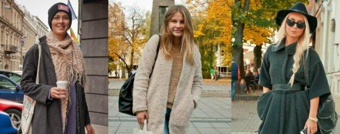 Gatvės mada: stilingų paltų paradas(FOTO)