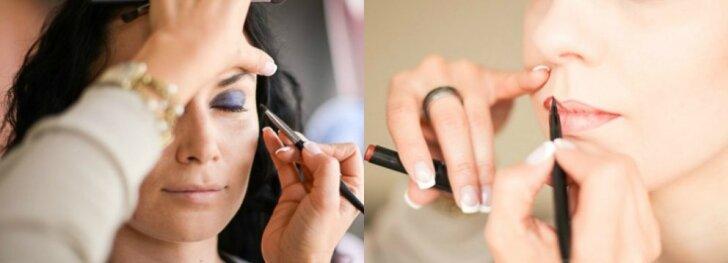 Rudens makiažo tendencijos pagal akių spalvą. Komentuoja makiažo meistrė