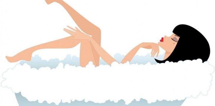 Kas vyksta su tavo kūnu, per ilgai gulint karštoje vonioje