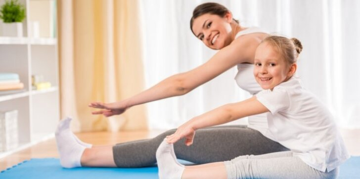 Judėjimas nulemia mūsų organizmo sveikatos būklę