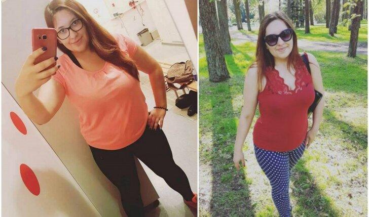 Pokyčių projekto dalyvių pokyčiai: po 3 mėnesių viena iš merginų pasikeitė kardinaliai!