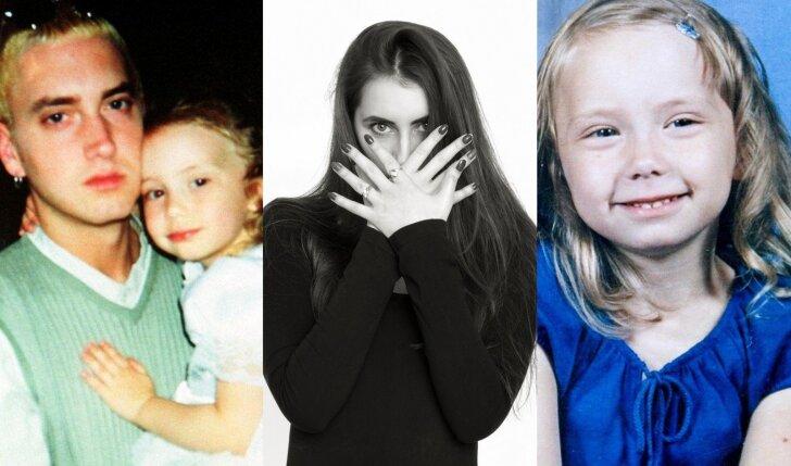 Į tikrą gražuolę užaugusi 21 m. Eminemo dukra - labiausiai sekama mergina JAV (FOTO)